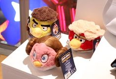 Angry Birds Star Wars Plush!