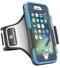 Encased Otterbox Defender Series Workout Armband for Apple iPhone 6 and 6S. Sweat band for running, jogging, sports and gym. With direct touchscreen access.