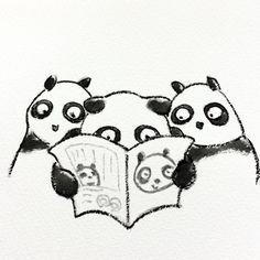 【一日一大熊猫】 2014.10.23 上野動物園には「マンスリーどうぶつえん」というフリーマガジンが置いてあるよ。 ジャイアントパンダやハシビロコウが 表紙になって特集されてたりするから その動物が好きな人はゲットしたいね。