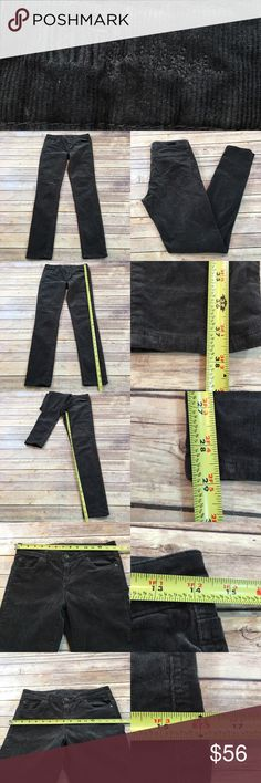 🌳Sz 4 KUT Mia Toothpick Corduroy Skinny Leg Pants Measurements are in photos. Normal wash wear, no flaws. B3/57  I do not comment to my buyers after purchases, due to their privacy. If you would like any reassurance after your purchase that I did receive your order, please feel free to comment on the listing and I will promptly respond.   I ship everyday and I always package safely. Thank you for shopping my closet! Kut from the Kloth Pants Skinny