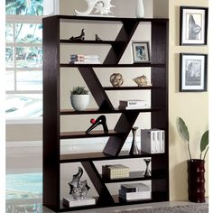 Offer a home for all your books, pictures and knick-knacks with this stylish and imaginative piece. The open display shelf provides a variety of shelves for your convenience.
