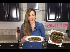 Sashimi de atún - Alma Verde - YouTube Salsa, How To Plan, Youtube, Recipes, Eating Plans, Green, Salsa Music, Restaurant Salsa