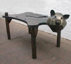 Bärenmäßiger Schreibtisch