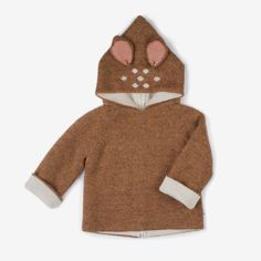 How adorable would your kids look in this Bambi hoodie for the winter?