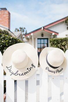 Sun Hats - On Trend