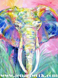 Jen Callahan Artwork: African Animals