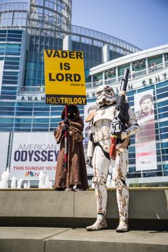 The WonderCon 2015 Cosplay Gallery Photos) - Tested Funny Cosplay, Best Cosplay, Cosplay Costumes, Cosplay Ideas, American Odyssey, Your Favorite, Pop Culture, Star Wars, Fandoms