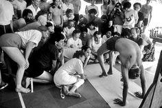 ebfbf2d8b6 1970's: BKS (Bellur Krishnamachar Sundararaja) Iyengar: Yoga Guru ~ Pune,  India