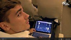 Chelsea fans spot Antoine Griezmann showing his passion for the club (Video)
