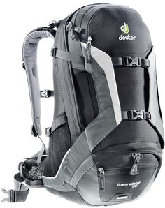 Deuter Trans Alpine 30 Black/Granite - Coolblue - Voor morgen in huis North Face Backpack, Black Backpack, Backpack Through Europe, Online Bike Store, Backpack Brands, Best Bags, Sports Shops, Extreme Sports, Golf Bags
