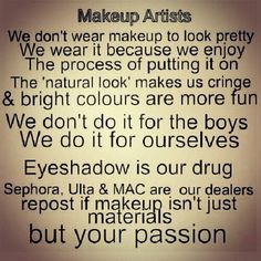 Makeup Passion, but I love also the Natural look :) :) :) :)