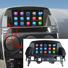 Sale US $327.75  Upgraded Original Car multimedia Player Car GPS Navigation for Mazda 6 Support WiFi Smartphone Mirror-link Bluetooth