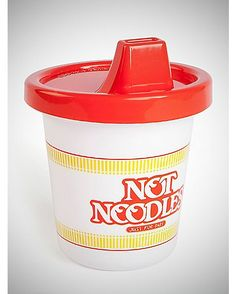 Not Noodles Toddler Baby Sippy Cup - Spencer's