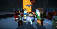 27 Best Minecraft Story Mode Images Minecraft Story Mode Games