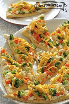 Pizza Vegetariana Fresca
