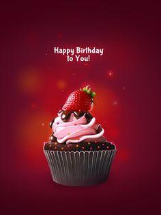Happy Birthday to you! Happy Birthday Wishes For A Friend, Happy Birthday Art, Happy Birthday Cake Images, Happy Birthday Wallpaper, Happy Birthday Celebration, Free Birthday Card, Happy Birthday Messages, Happy Birthday Greetings, Birthday Morning