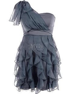 Prom Dress With Ruffles at Millybridal.com