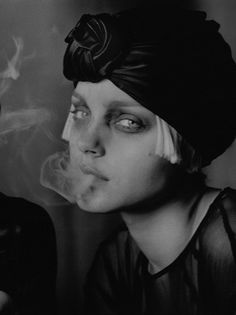 Model: Jessica Stam Photographer: Peter Lindbergh Magazine: Vogue Italia April 2007