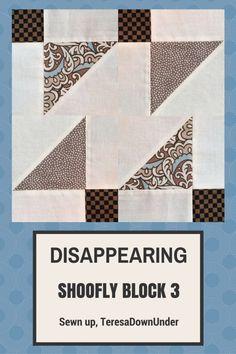 Video tutorial: disappearing shoofly block - variation 3