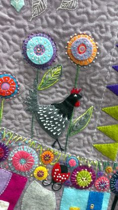Excellent Applique Embroidery Designs And Patterns (8)
