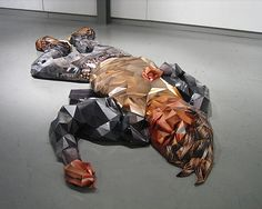 This is a series by artist Susy Oliveira using a technique which marries sculpture and photography. She manipulates actual photos of the subject to create a collage-like sculpture. Photo Sculpture, Sculpture Art, Sculpture Ideas, Image Layout, 3d Photo, 3d Studio, Wow Art, Canadian Artists, Digital Collage