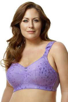 91d9f4bbee7 The Jacquard Softcup bra by Elila is a firm support bra engineered to  immediately improve your
