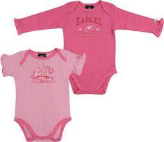Philadelphia Eagles Baby Bodysuits