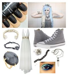 """Untitled #169"" by bleeding-neverland on Polyvore featuring Zuhair Murad, Converse, species by the thousands, LeiVanKash and Ippolita"