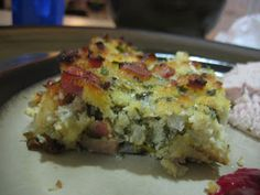 Low Carb Stuffing, gluten free stuffing recipe