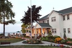 The Lakehouse Inn at Geneva On The Lake, Ohio.  This is a great B&B that has a ton of winery within a few miles.