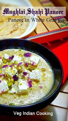 Mughlai Shahi Paneer #paneer #paneerrecipes #shahipaneer #mughlaicuisine #whitegravy #indianfoodbloggers #foodblogger #indianfood #indianrecipes #yummilicious #yummyfood #indianfood #indianrecipes #paneermakhani