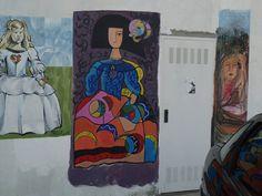 Meninas 2014. La Menina de Novais, ya finalizada.