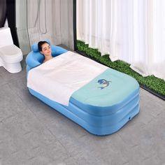 35 meilleures images du tableau spa gonflable conseils spa spas et tips - Baignoire pliable adulte ...