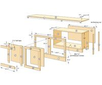 How to Build Cabinets with Cushions or Shelves