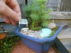 25+ Gorgeous Gardens So Tiny They'll Fit In The Palm Of Your Hand | Architecture & Design