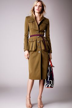 Military. Burberry Prorsum   Resort 2015 Collection   Style.com
