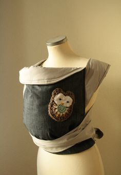 owl baby carrier sling for parents MEI TAI CARRIER / by kitrino