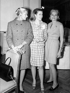Grace with her sisters Peggy and Lizanne, 1969.