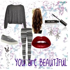 """""""You are BEAUTIFUL"""" by isi-belieber3 on Polyvore"""