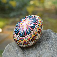 Pysanka Ukrainian Easter beautiful gift for wife's