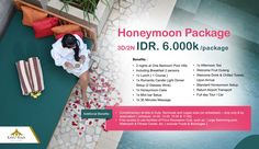 Romantic Honeymoon Package 3D/2N - IDR 6.000.000 . Honeymoon villas in Seminyak, get your holiday or honeymoon memorable with us. Romantic and best service for your holiday in Seminyak Bali. . #honeymoon #bali #promotion #packages  #seminyak #villakayuraja #holiday #liburanseru