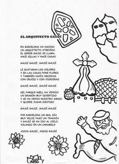 Discover recipes, home ideas, style inspiration and other ideas to try. Spanish Art, Spanish Class, Teaching Spanish, Teaching Art, Casa Gaudi, Antonio Gaudi, Spanish Holidays, Artists For Kids, Art Programs