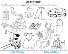 ESTAS SON ALGUNAS ACTIVIDADES PARA TRABAJAR LAÉPOCACOLONIAL English Activities, Learning Activities, Coloring Books, Coloring Pages, Classroom Signs, Montevideo, School Holidays, Natural Disasters, Lesson Plans