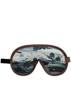 Otis Batterbee Blue Liberty Summer Print Eye Mask | Travel Accessories by Otis Batterbee | Liberty.co.uk