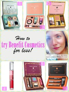 TheInsideOutBeauty - Beauty & Lifestyle Blog: Makeup Monday | Try Benefit Cosmetics Top Sellers...