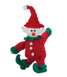 Amigurumi Christmas Elf - Tutorial