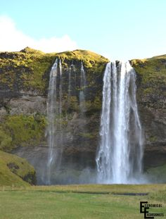 Itinerary for a one week road trip through Iceland. Check definitely check out the beautiful Seljalandsfoss Waterfall.
