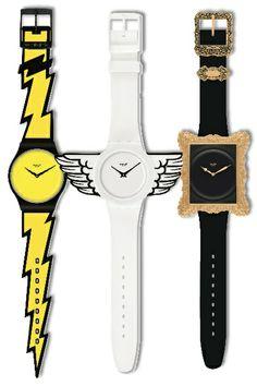 Tres diseños de edición limitada para Swatch.