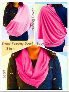 BayB Brand 3-in-1 Nursing Cover Up, Baby Sling & Scarf - Pink BayB Brand http://www.amazon.com/dp/B00TKTMNC0/ref=cm_sw_r_pi_dp_IYUWvb0MAZ0K3