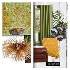 """""""Autumn beckoning"""" by kata-koppany on Polyvore featuring interior, interiors, interior design, home, home decor, interior decorating, NLXL, Lights Out, Kelly Wearstler and modern"""